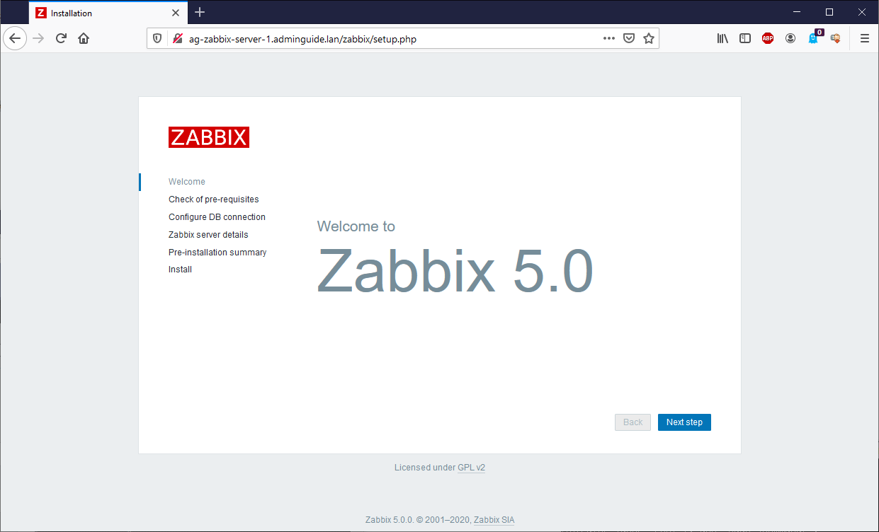 Установка-Zabbix-5.0-из-репозитория-на-Ubuntu-20.04-Welcome-Screen