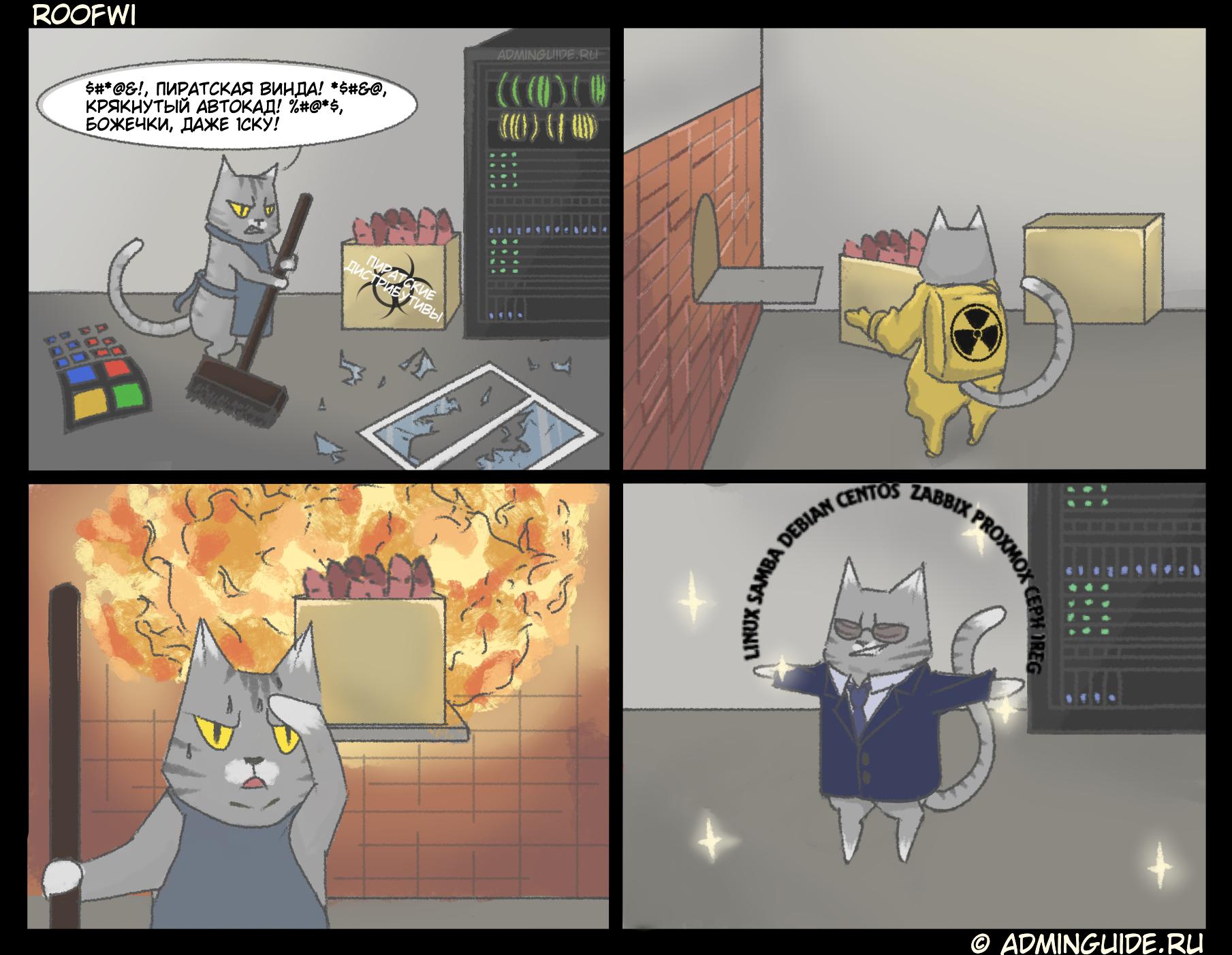 AdminGuide - Комикс 2 - Очищение